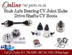 High Quality Stub Axle Bearing CV Joint Hubs Drive Shafts CV Boots