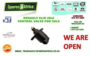 RENAULT CLIO IDLE CONTROL VALVE FOR SALE
