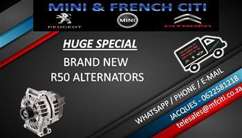 HUGE SPECIAL Brand New R50 ALTERNATORS