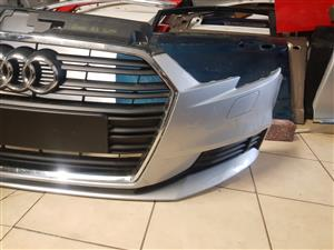 Audi A3 SEDAN Front Bumper and Grill For sale