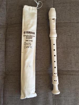 Yamaha YRS-24B Soprano/Descant Recorder