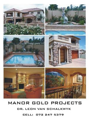 Manor gold construction - Project management / Renovations