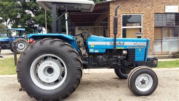 2008 Blue Landini 7860 53kW/71Hp 2x4 Pre-Owned Tractor