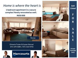 Spacious apartment close to Parow Mall !