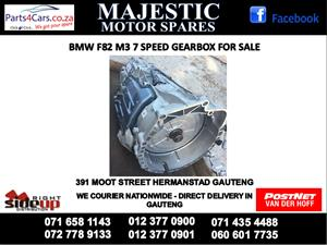 Bmw F82 7 speed gearbox for sale