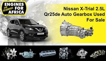 Nissan X-Trial 2.5L Qr25de Auto Gearbox Used For Sale
