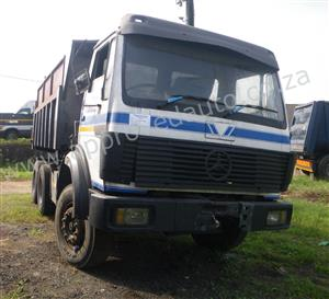 We have a used 10cube tipper truck in stock that needs some work - AA3031