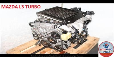 Used Second hand MAZDA 3/5/6 2.3L  TURBO engine Complete