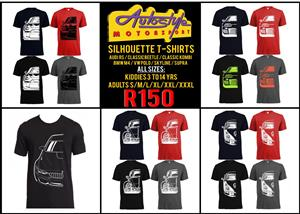 Silhouette t shirts and original VW Volkswagen GTI Gear