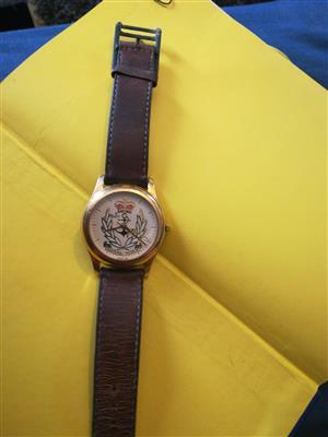 Buren Royal navy watch for sale