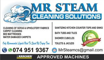 Mr Steam Cleaning Solutions