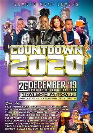 26 December 2019 Closing birthday bush soweto festival expo