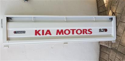 Kia K2700 tailgate