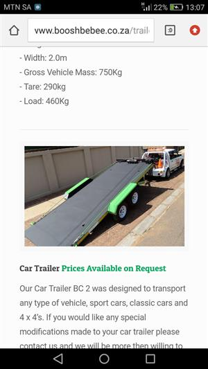 Car Trailer Solid Fl