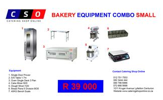 Bakery Equipment Combo Small Discount Price Cheapest R39 000