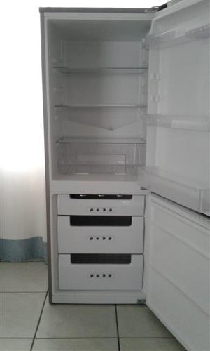 KIC silver fridge freezer