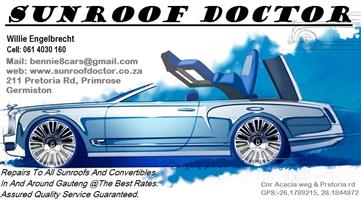 Audi Sunroof and Convertible Repairs