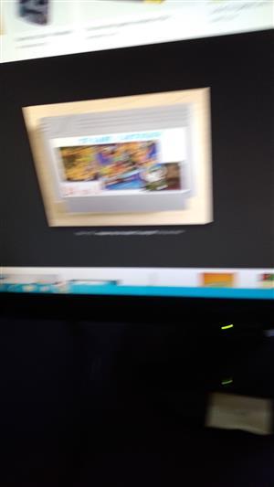 Paperboy Tv game cartridge