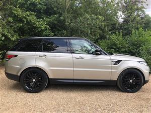 2015 Land Rover Range Rover Sport SDV6 HSE Luxury