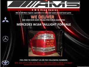 MERCEDES W164 TAIL LIGHT