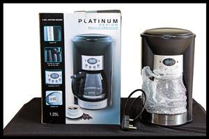 Platinum 1.25l Coffee Maker