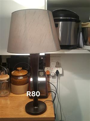 Grey shaded lamp for sale