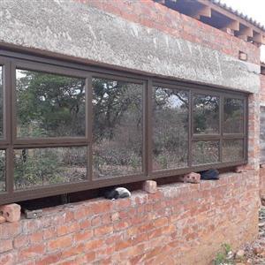 Aluminium doors and windows repair