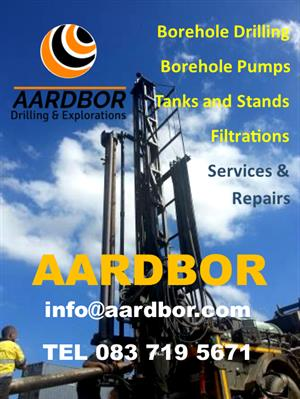 Aardbor Drilling - Borehole Drilling Services