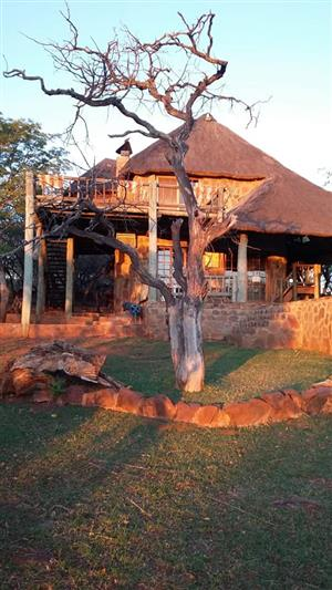 263 hectare game farm near Groot Marico
