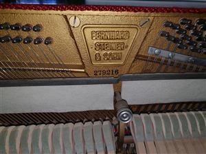 Bernhard Steiner Upright Piano 1967