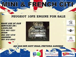 Peugeot 10fe engine for sale