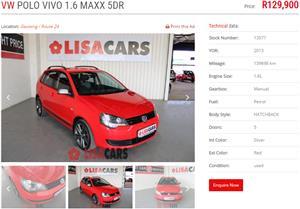 2013 VW Polo Vivo Maxx