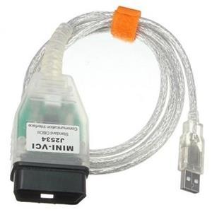 Toyota Techstream diagnostic cable (Mini-VCI J2534)