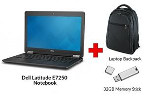 Refurbished DELL LATITUDE E7250 Core i5 Notebook