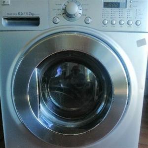LG front loader washing machine washer dryer