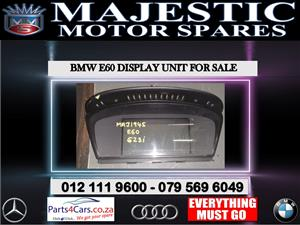 Bmw E60 display unit for sale
