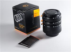Vello Extension Tube Set - Autofocus - for Nikon