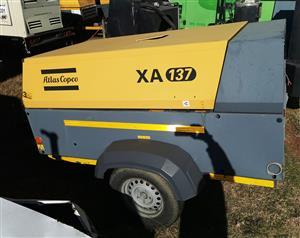 Atlas Copco XA137 Compressor - Non Runner