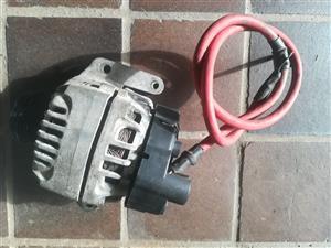 Various Fiat Punto Multijet 1.3 turbo diesel engine spares