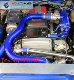 Imported used TOYOTA SUPRA/CRESIDDA 3.0L MANUAL, 7MGTE MANUAL engine Complete