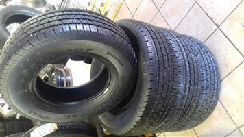 255/70/16 x4 brand new tyres R4700