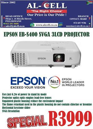 Epson EB-S400 SVGA Projector
