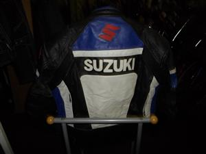 Large Suzuki Leather Jacket