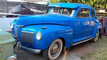 1941 Mercury coupes