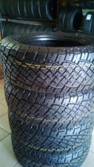 General Grabber 255 60 18'' A/T new tyres on special