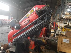 Crane: 1 x NEW - PALFINGER PK165.002 TEC7