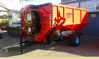 Dragon feed mixers and Trailers & Grass cutters