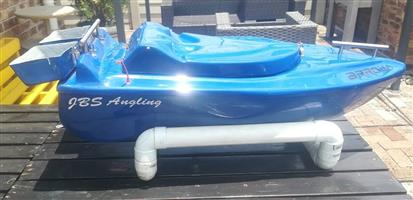 BLUE ANGLING BAIT BOAT FOR SALE