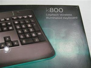 Logitech K800 Wireless Backlit Keyboard
