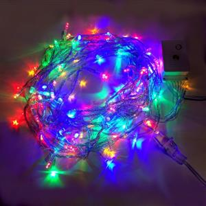 LED Decorative Fairy String Lights Waterproof 220V AC in RGB. Brand New.